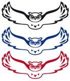 Logo owl Royalty Free Stock Images