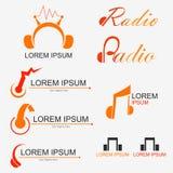 Logo par radio illustration libre de droits