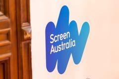 Logo Parawanowa Australia instytucja Obraz Stock