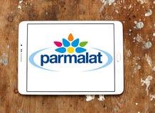 Parmalat Food processing company logo. Logo of Parmalat company on samsung tablet. Parmalat SpA is a multinational Italian dairy and food corporation Stock Photography