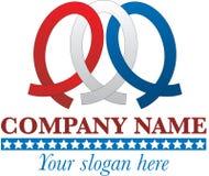 logo patriotyczny Zdjęcia Royalty Free