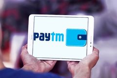 Paytm Payments bank logo Royalty Free Stock Image