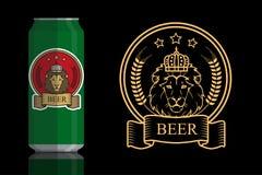 Logo per birra Fotografia Stock