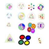 logo 15 per il vostro affare Fotografie Stock