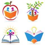 Logo per istruzione Fotografie Stock