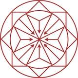 Logo per lo sviluppatore di proprietà Immagini Stock Libere da Diritti