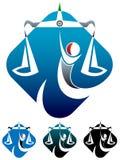 Logo permissible Image libre de droits