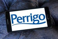 Perrigo Company logo. Logo of Perrigo Company on samsung mobile. Perrigo Company plc is an American international manufacturer of private label over-the-counter Royalty Free Stock Photos