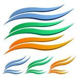 Logo petal Stock Images