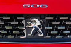 Logo Peugeot fotografia royalty free