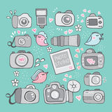Logo photography Royalty Free Stock Images