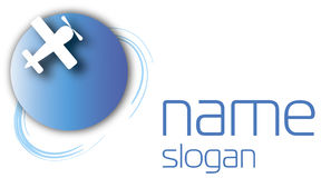 Logo piano Immagine Stock Libera da Diritti