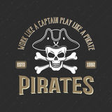 Logo Of Pirates Print libre illustration