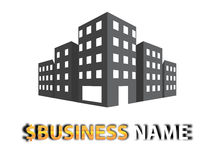 Logo Place. This is Logo design for business people or business banking Stock Photo