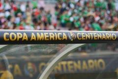 Logo podczas Copa Ameryka Centenario Zdjęcia Stock