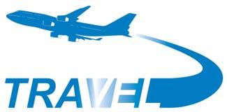 logo podróż Obrazy Royalty Free