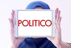 Politico political journalism company logo Royalty Free Stock Images