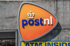 Logo From Post.nl At Amsterdam The Netherlands 2018.  stock images