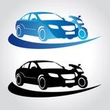 Logo pour conduire le scholol illustration de vecteur