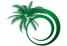 Logo pour l'été Image stock