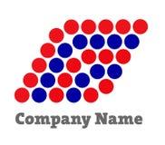 Logo pour les sociétés financières Photo stock