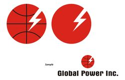 Logo Power Company Images libres de droits