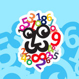 Logo principal de Digital Illustration de Vecteur