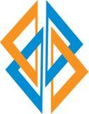 logo prosty Obraz Royalty Free
