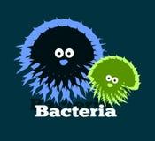 Logo qui dépeint des bactéries Illustration Libre de Droits