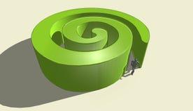 Logo rêveur 2 Photo libre de droits