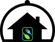 Logo rêveur de cuisson à la maison Photo stock