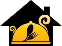 Logo rêveur de cuisson à la maison Photos stock