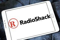 RadioShack logo. Logo of RadioShack on samsung tablet. RadioShack is an American chain of wireless and electronics stores Royalty Free Stock Image