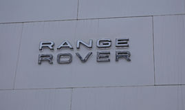 Logo Range Rover Royalty-vrije Stock Afbeelding