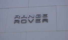 Logo Range Rover Royalty Free Stock Image