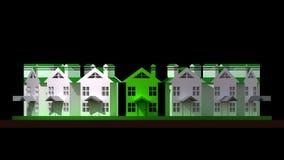 Logo real estate Stock Image