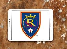 Logo reale del club di calcio di Salt Lake Fotografia Stock Libera da Diritti