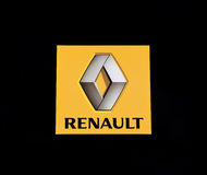 logo renault Arkivbild