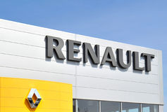 logo Renault fotografia stock