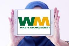 Logo residuo dell'azienda di gestione Immagine Stock Libera da Diritti