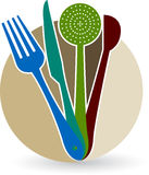 logo restauracja Obraz Stock