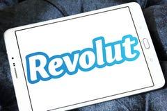 Revolut digital banking logo royalty free stock photos