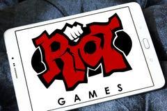 Riot Games company logo Royalty Free Stock Image