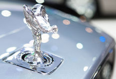 Logo of Rolls Royce on bumper Stock Images