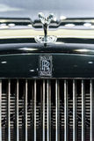 The Logo of Rolls-Royce Wraith Black Badge. Stock Photography