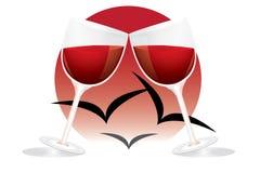 logo romantyczny Zdjęcia Royalty Free