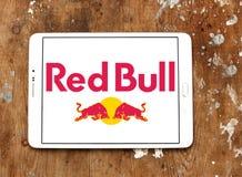 Logo rouge de taureau Image libre de droits