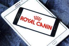 Logo royal d'aliment pour animaux familiers de canin Photographie stock libre de droits