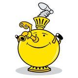 Logo russe de samovar Illustration Libre de Droits