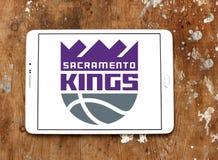 Sacramento Kings basketball team logo. Logo of Sacramento Kings club on samsung tablet. The Sacramento Kings are an American professional basketball team Royalty Free Stock Photo